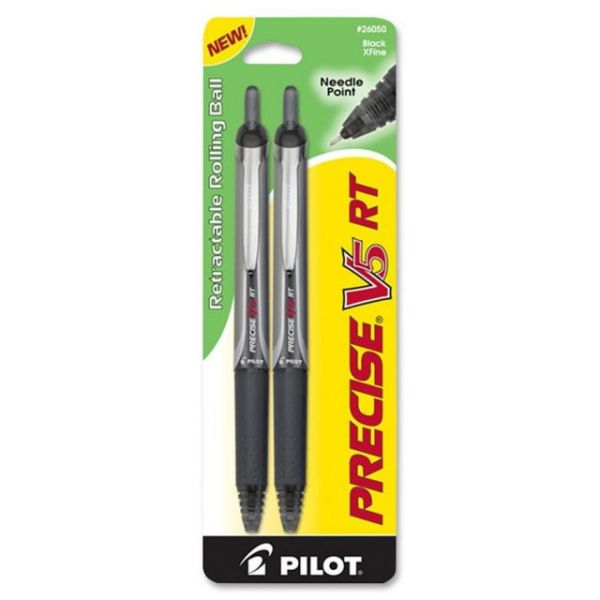 Pilot Precise V5 RT Retractable Rollerball Pens
