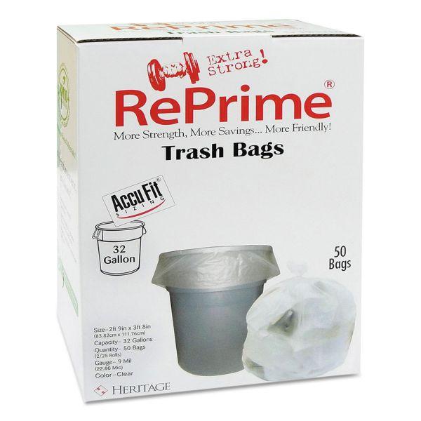 RePrime 32 Gallon Trash Bags