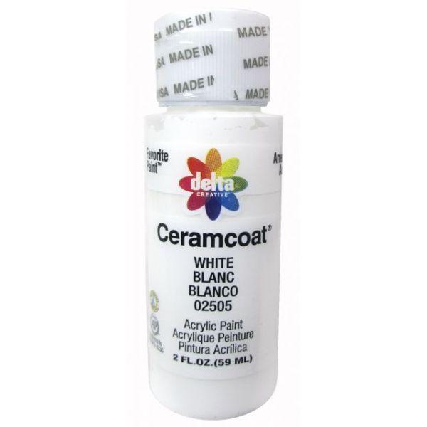 Ceramcoat White Acrylic Paint