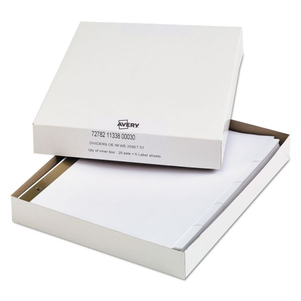 Office Essentials Index Dividers