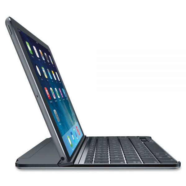 "Logitech Ultrathin Keyboard/Cover Case for 10.6"" iPad - Gray"