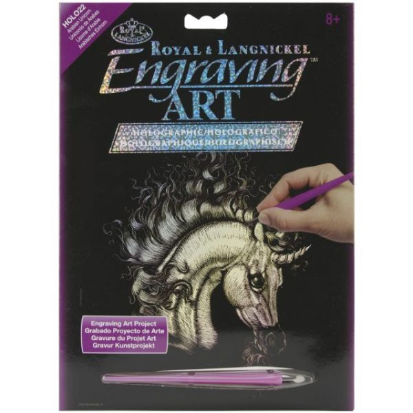 Holographic Foil Engraving Art Kit