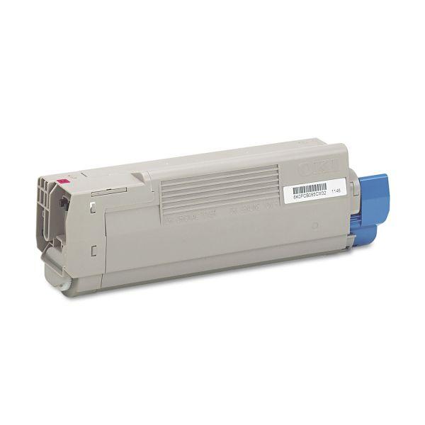 Oki 43865718 Magenta Toner Cartridge