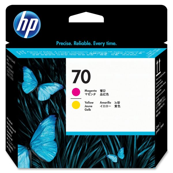 HP 70 Magenta/Yellow Printhead (C9406A)