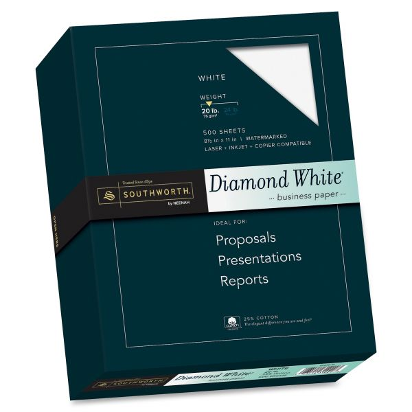 Southworth Diamond White Fine Business Paper