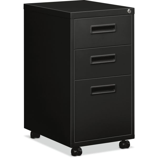 "HON basyx by HON Embark Mobile Pedestal File | 2 Box / 1 File Drawer | 15""W"