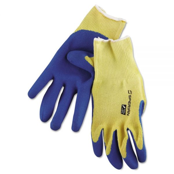 Honeywell Tuff-Coat II Gloves, Blue/White, Extra Large, Dozen