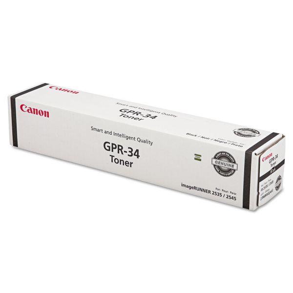 Canon GPR-34 Black Toner Cartridge (2786B003AA)