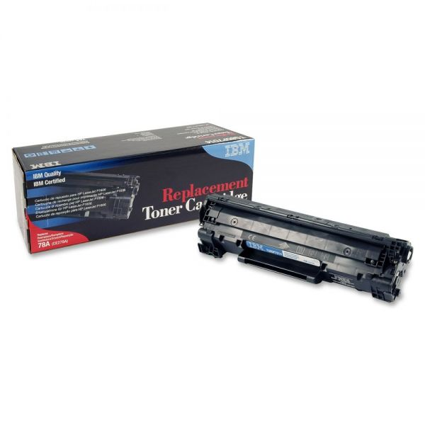 IBM Remanufactured HP CE278A Black Toner Cartridge