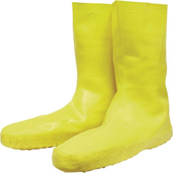 Norcross Safety Servus Disposable Yellow Latex Booties