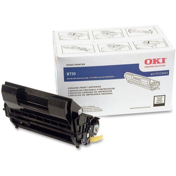 Oki 52123603 Black Toner Cartridge