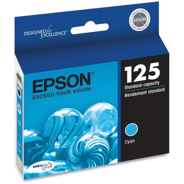 Epson 125 Cyan Ink Cartridge (T125220)