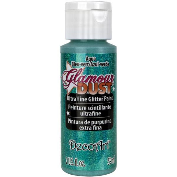 Deco Art Aqua Glamour Dust Ultra Fine Glitter Paint