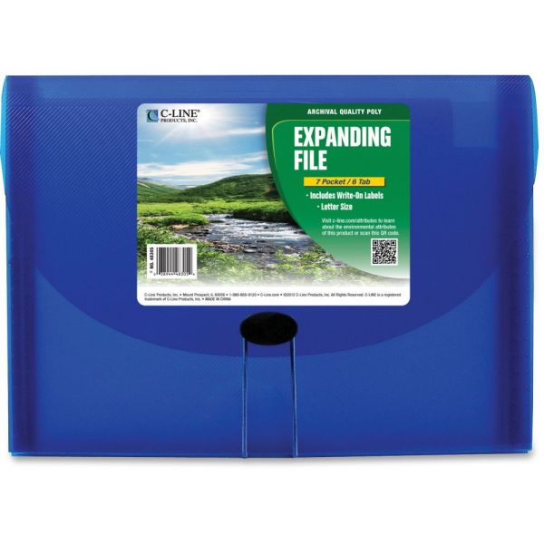 C-line Biodegradable Expanding File