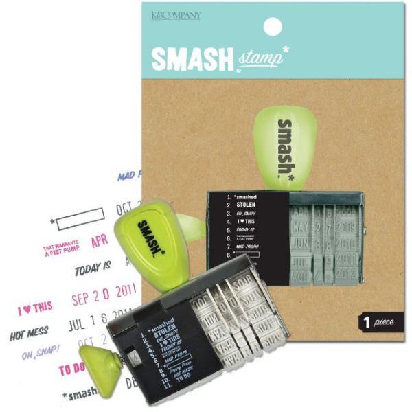"SMASH Date Stamp 3""X3"""