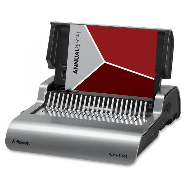 Fellowes Quasar E500 Electric Comb Binding Machine