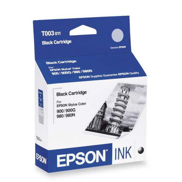 Epson T003 Black Ink Cartridge