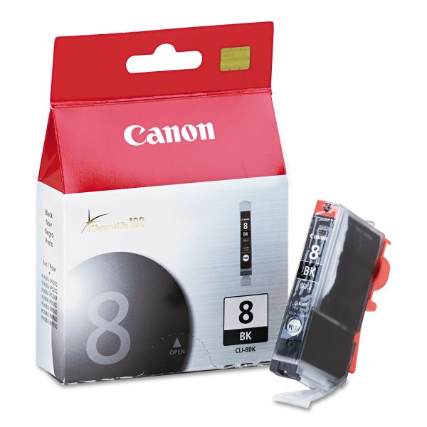 Canon CLI-8BK Black Ink Cartridge (0620B002)