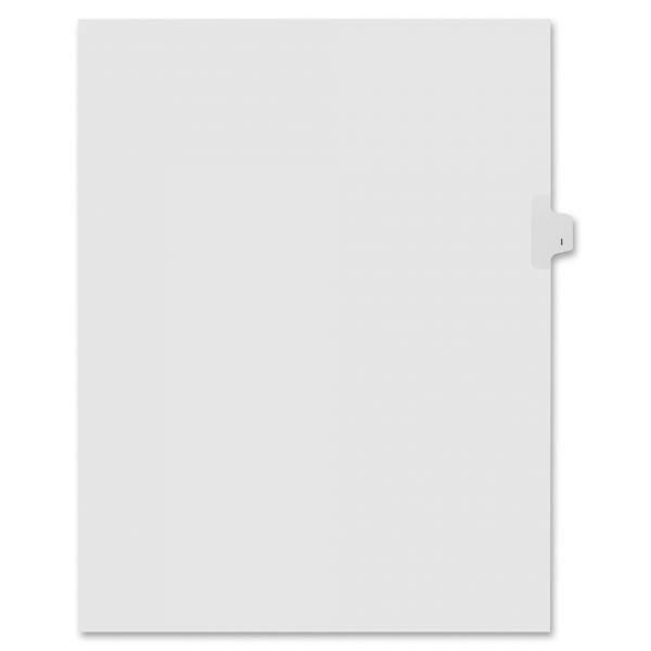 Kleer-Fax Lam Alphabetic Side Tab Index Dividers