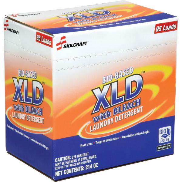 SKILCRAFT Bio-Based XLD Laundry Detergent With Bleach