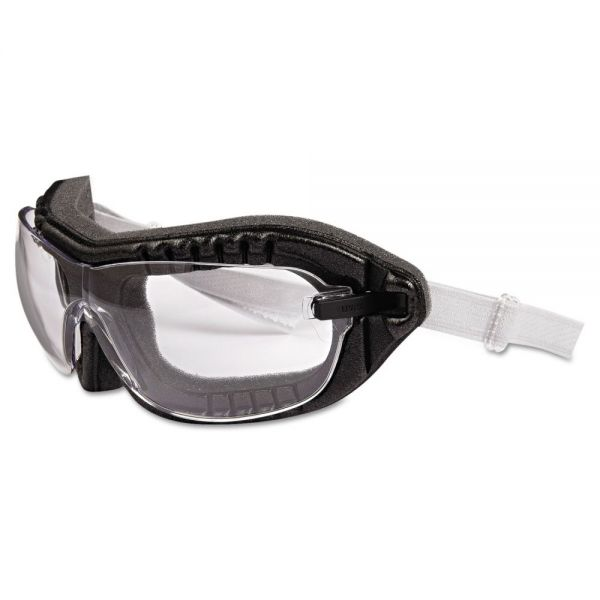 Uvex by Honeywell Fury Goggles, Black Frame