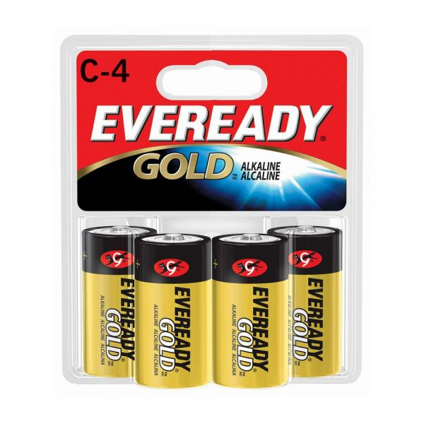 Eveready Gold C Batteries