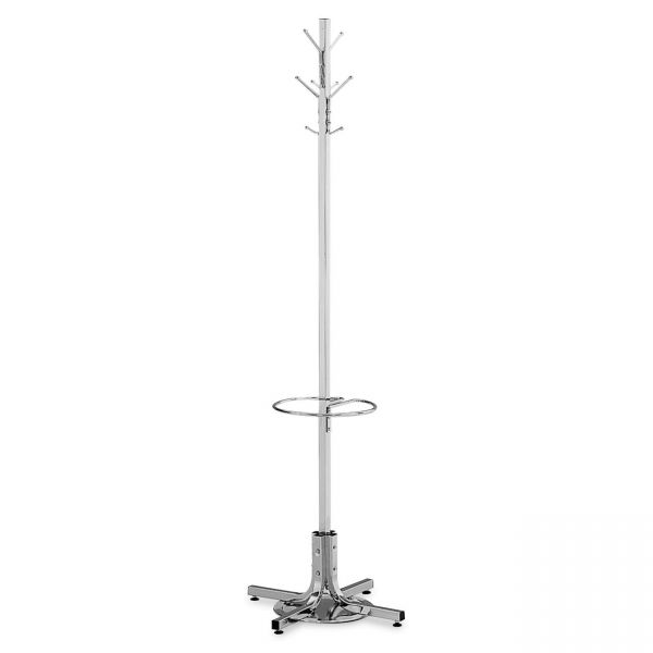 Safco Freestanding Coat Rack with Umbrella Stand