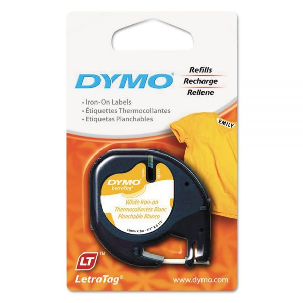 DYMO LetraTag Fabric Iron-On Labels