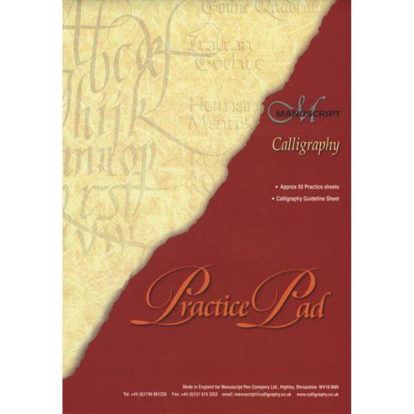 Manuscript Calligraphy Practice Pad 50 Sheets