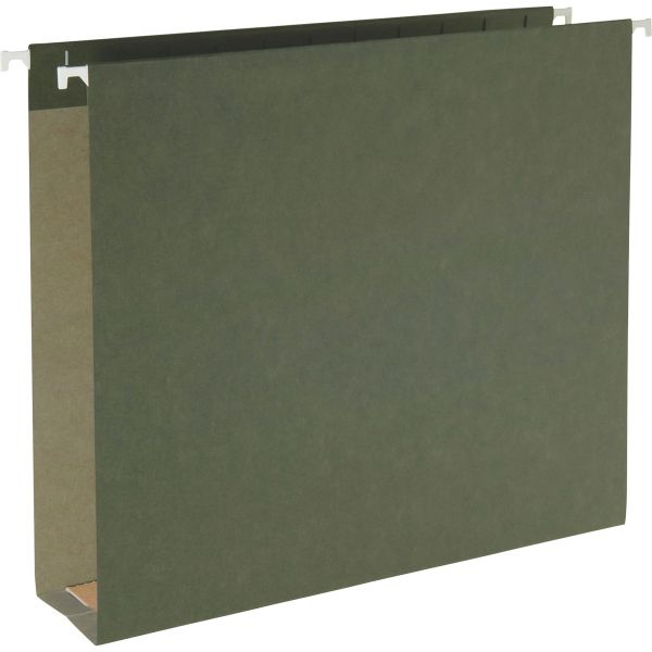 Smead 100% Recycled Hanging Box Bottom File Folders