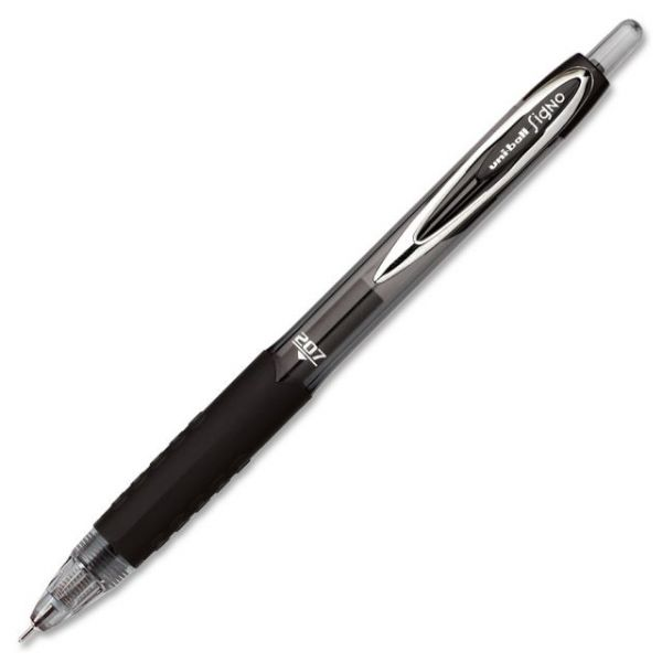 Uni-Ball 207 Medium Needle Point Pens