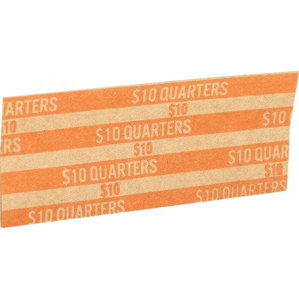 Sparco Flat Quarter Coin Wrappers