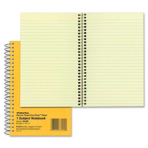 Rediform Brown Board 1-Subject Notebooks