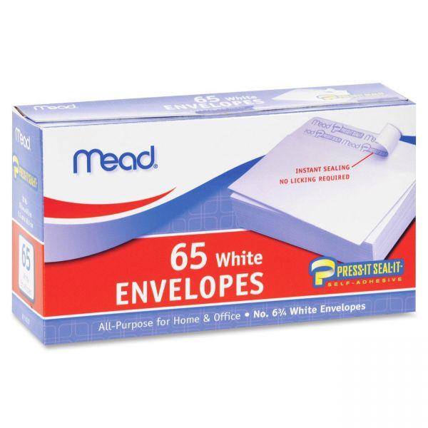 Mead No.6.75 All-purpose White Envelopes
