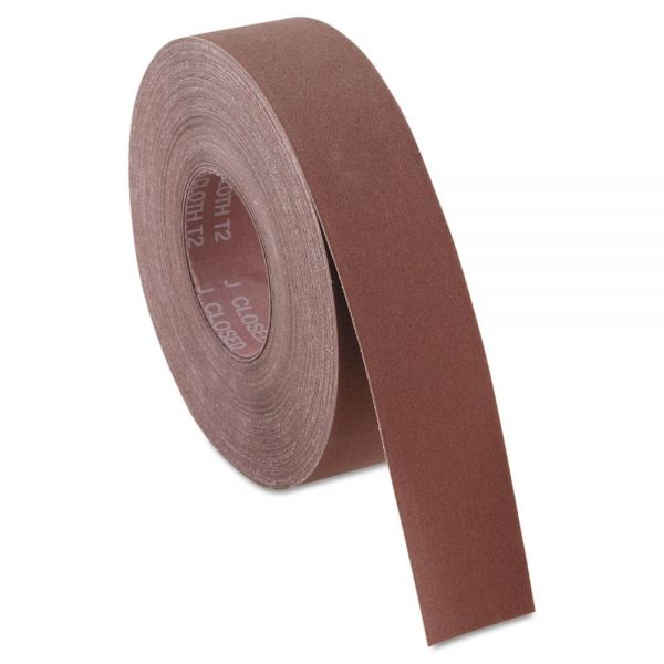 "Norton P220J Coated Handy Roll, 2"" x 50yds, K225"