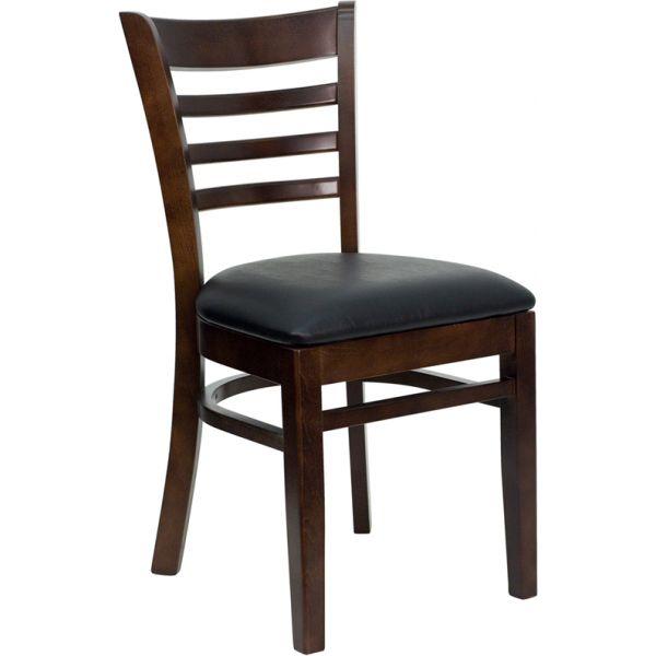 Flash Furniture Ladder Back Wooden Restaurant Chair