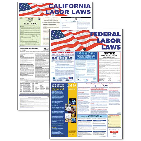 Advantus Federal and State Labor Law Poster