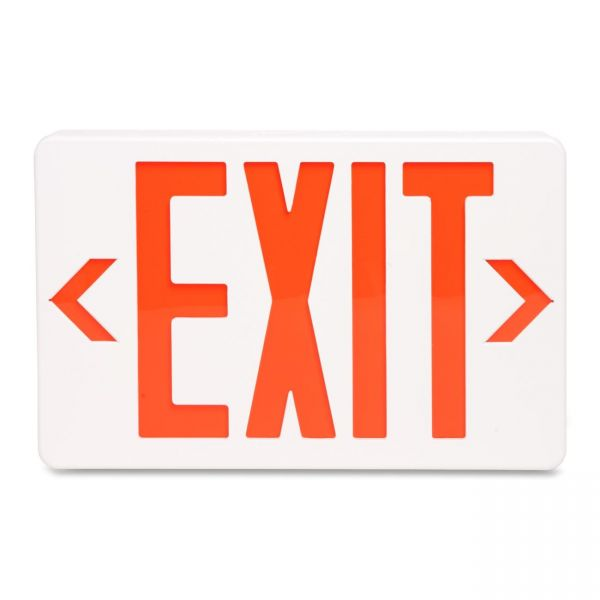 "Tatco LED ""Exit"" Sign with Battery Back-Up"