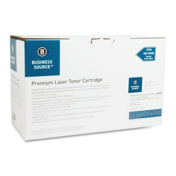 Business Source Remanufactured HP 29X (C4129X) High Yield Toner Cartridge