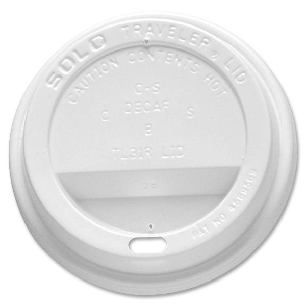 SOLO Traveler Drink-Thru Coffee Cup Lids