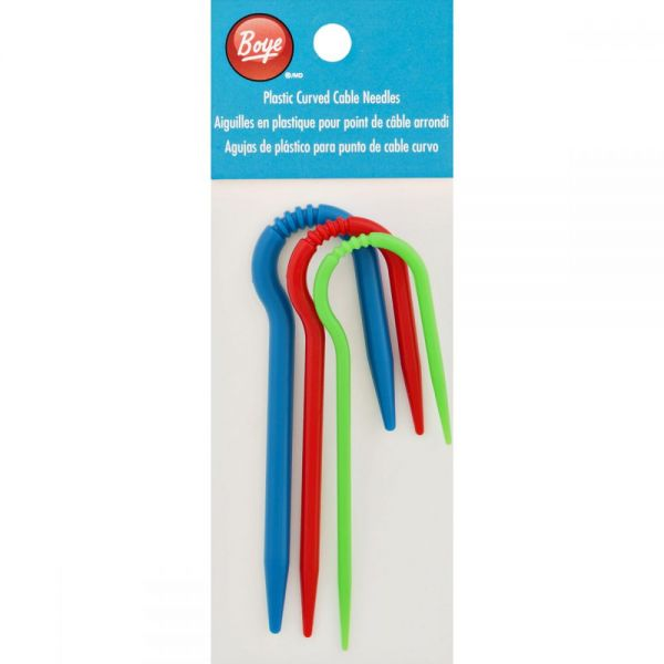 Plastic Curved Cable Needles