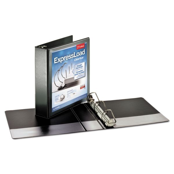"Cardinal ExpressLoad 2"" 3-Ring View Binder"