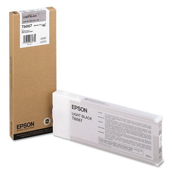 Epson T6067 Light Black Ink Cartridge