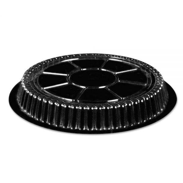 Handi-Foil of America Clear Plastic Dome Lid, Round, Fits 9 inch Round Pan, 500/Carton