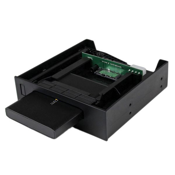 "StarTech.com 5.25"" USM Storage Bay with 2.5"" SATA USM / USB 3.0 Hard Drive Enclosure"