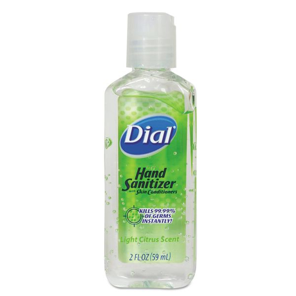 Dial Travel Size Scented Antibacterial Gel Sanitizer