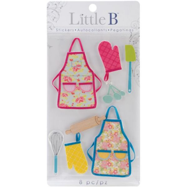 Little B Medium Stickers