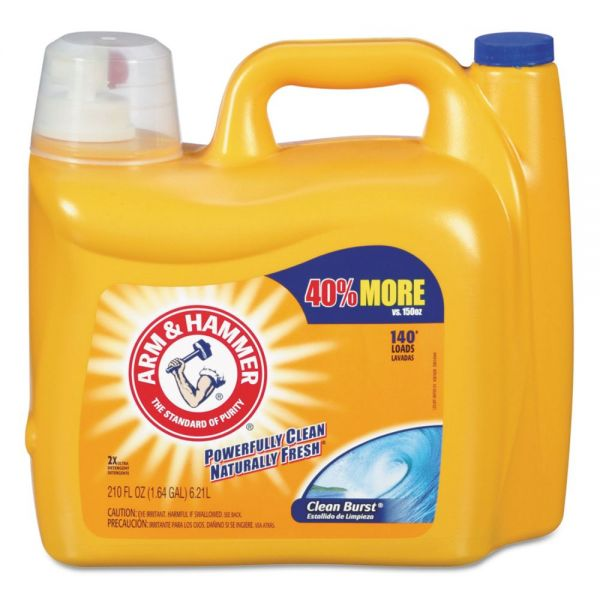 Arm & Hammer Dual HE Liquid Laundry Detergent