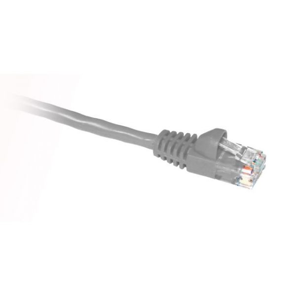 ClearLinks 25FT Cat. 5E 350MHZ Light Grey Molded Snagless Patch Cable