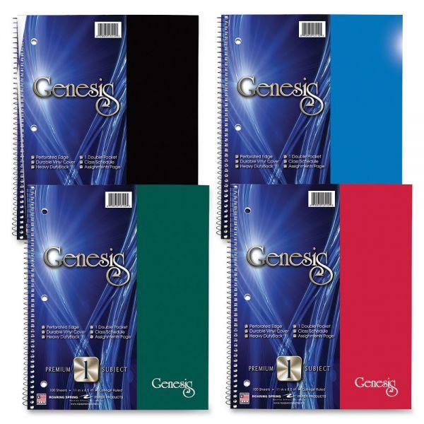 Genesis 1-Subject Wirebound Notebook